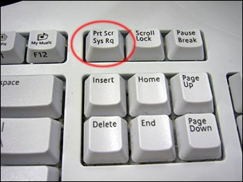 кнопка принтскрин
