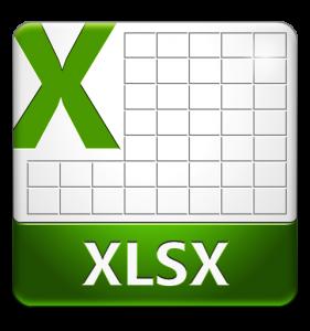 файл xlsx