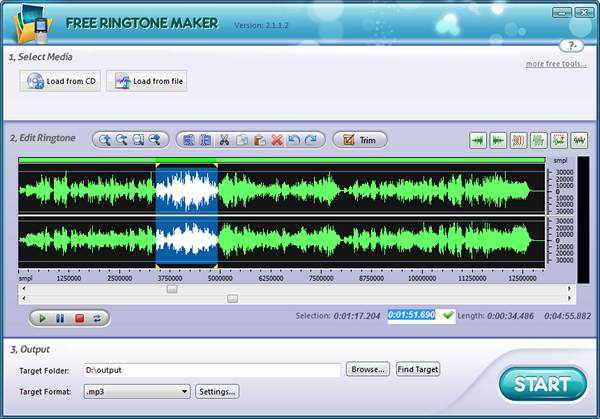 скачать приложение для обрезки песен