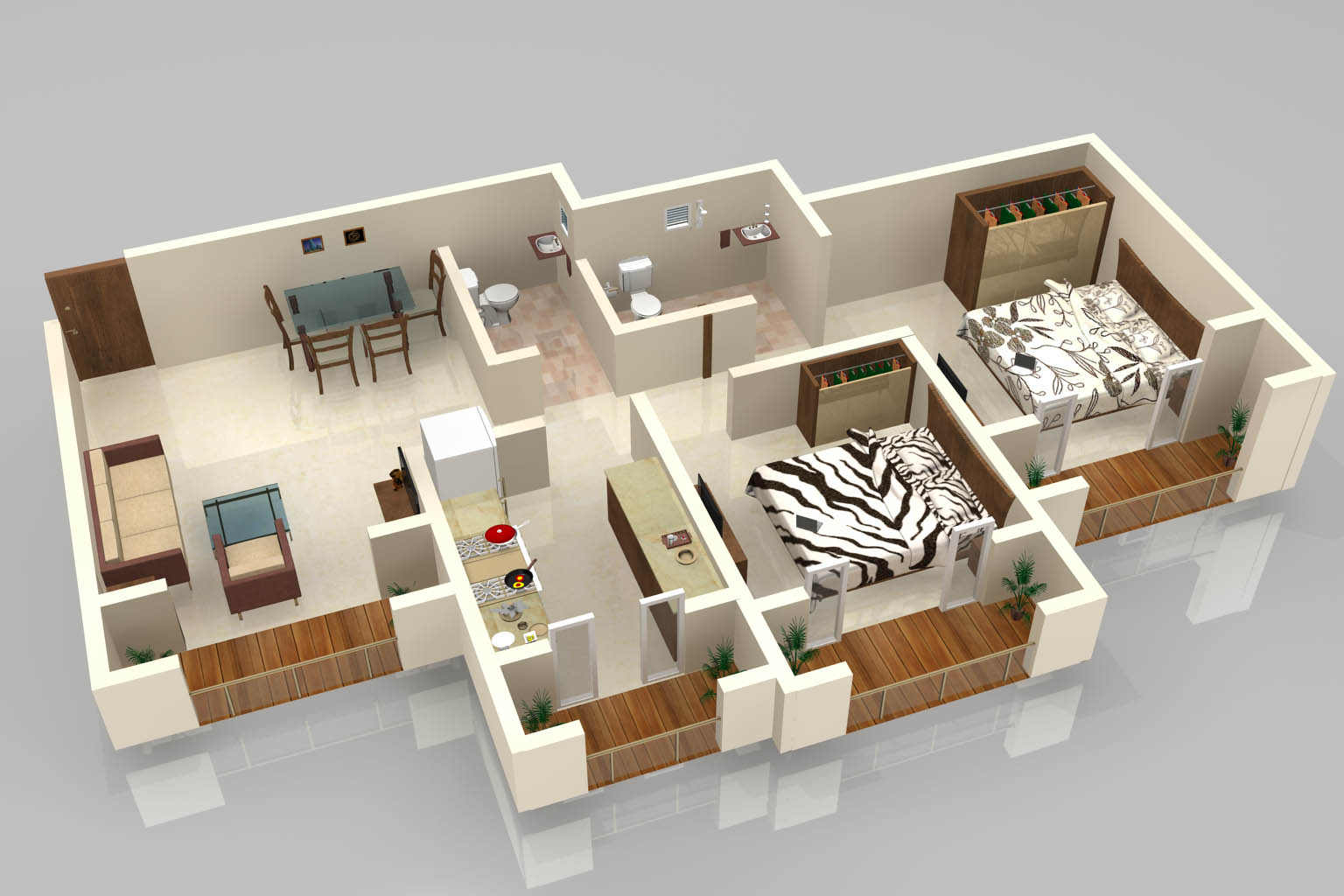 Floorplan 3d for Floorplans 3d