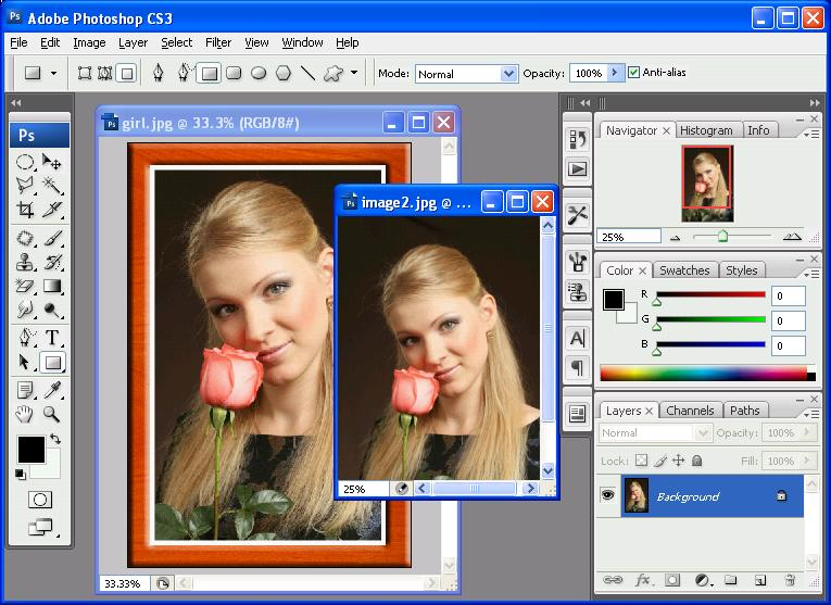 Программа Photoshop CS3