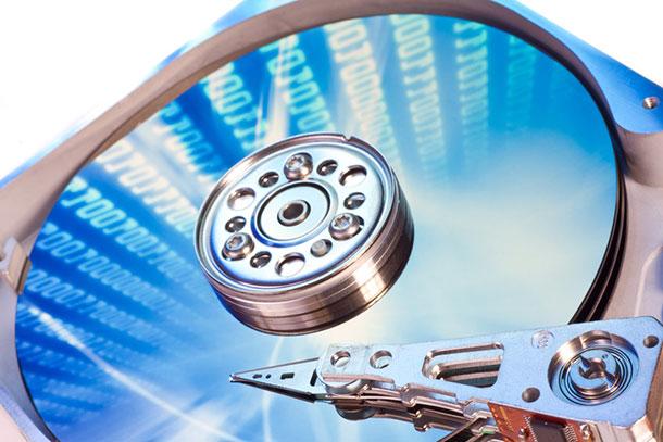 Процесс восстановления извлеченных с жесткого диска файлов