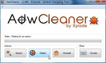 AdwCleaner: оптимизация персонального компьютера