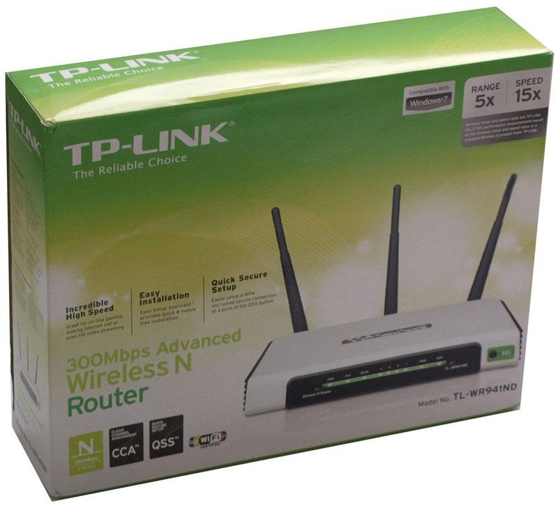 Экспресс-тест TP-LINK TL-WR940N/TL-WR941ND 450M