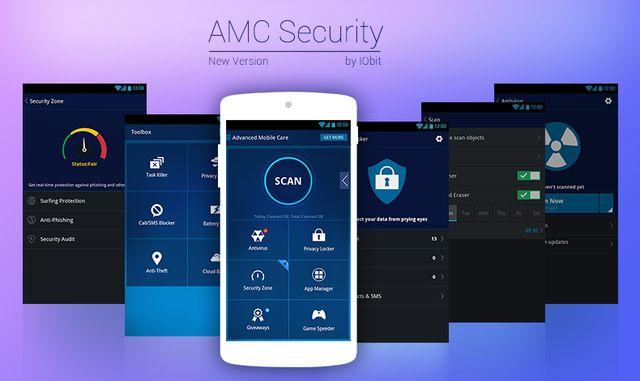 AMC Security для Android: быстрая оптимизация ОС