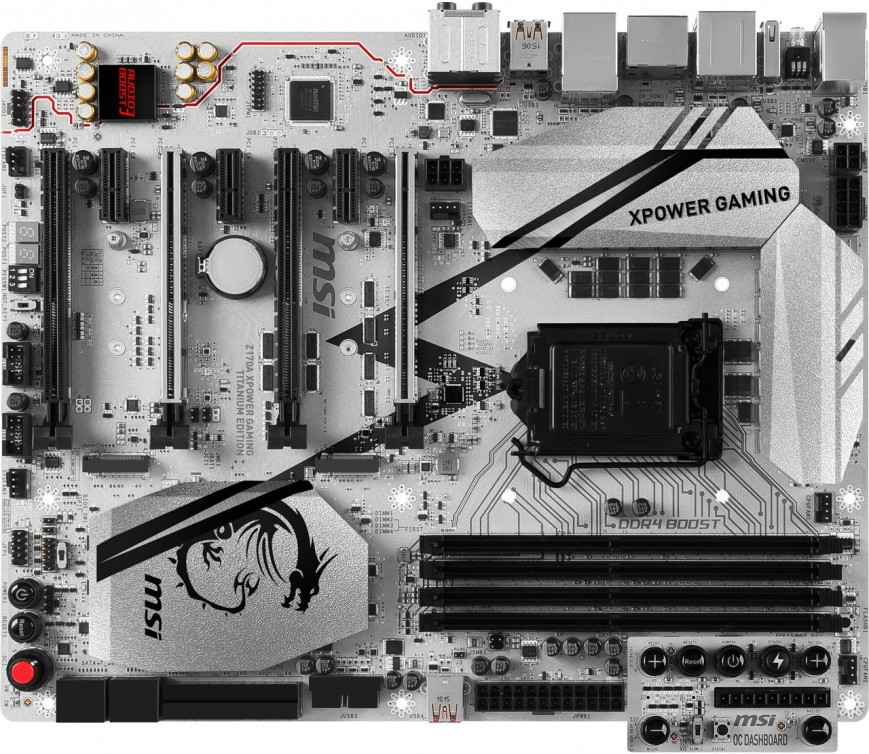 Материнская плата MSI Z170A XPower Gaming Titanium Edition