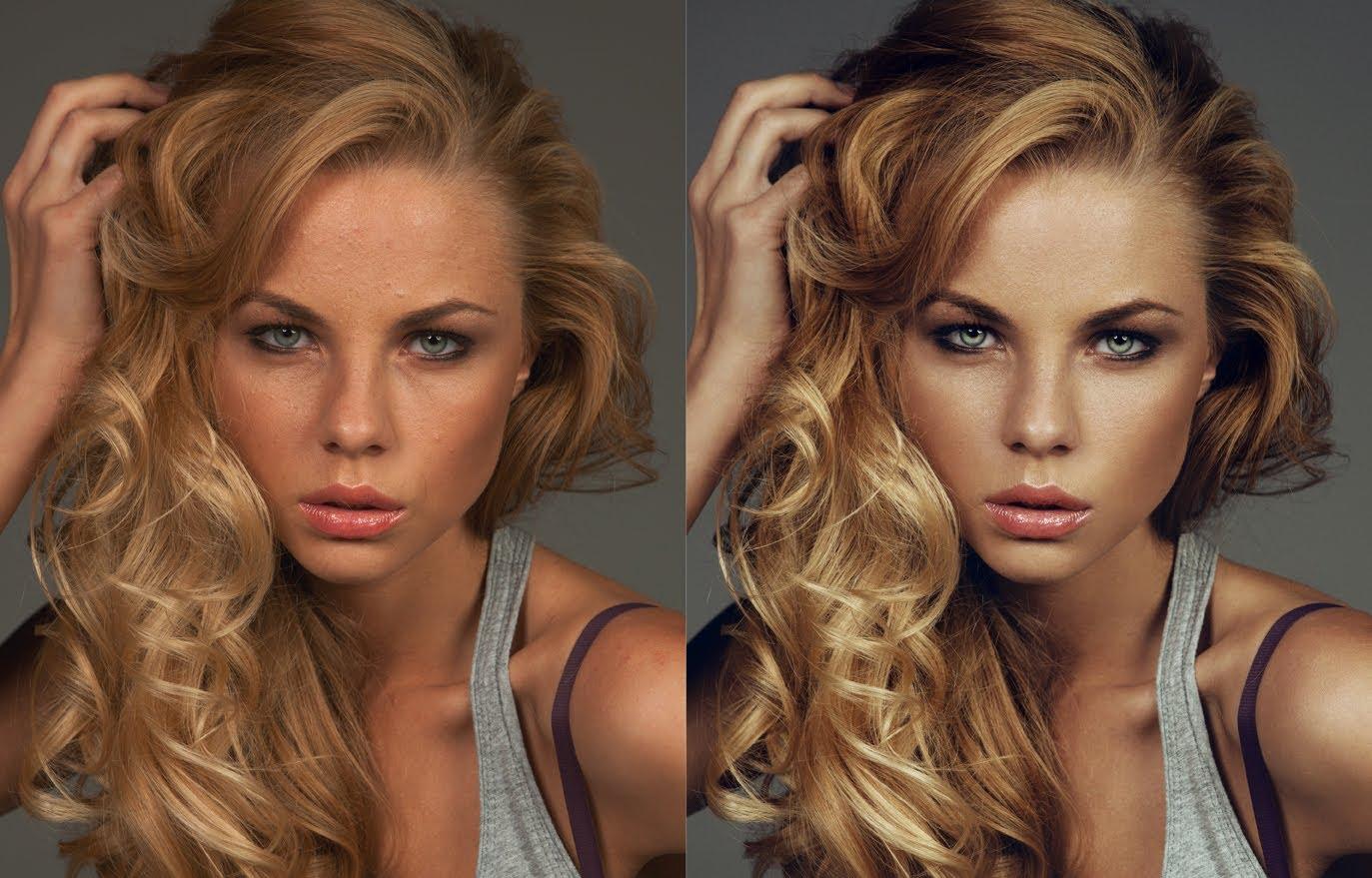 Как выполняется ретушь лица в программах фотошопа