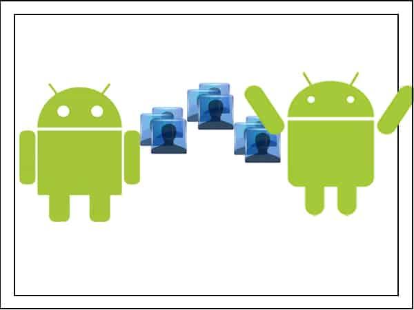 Перенос фото с Андроида на Андроид